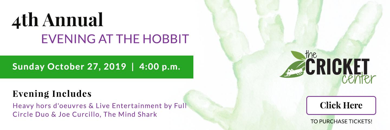 graphic displaying details of hobbit restaurant event